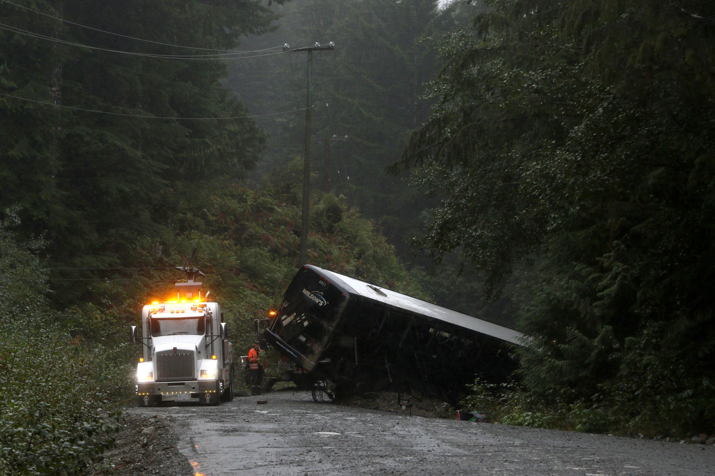 Future field trip transport will be guided by bus crash review: University of Victoria