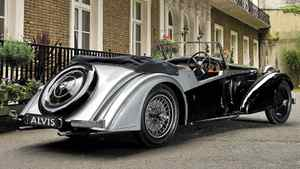 "Last year Alvis Car Co. of Kenilworth, England, began offering ""Continuation Series"" examples of the 1936 4.3 Short Chassis Tourer."