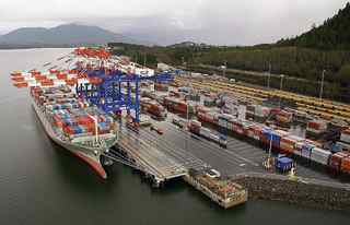The Port of Prince Rupert. BG Group PLC has secured access to a 200-acre section of land on the Ridley industrial development site, owned by the Prince Rupert Port Authority.