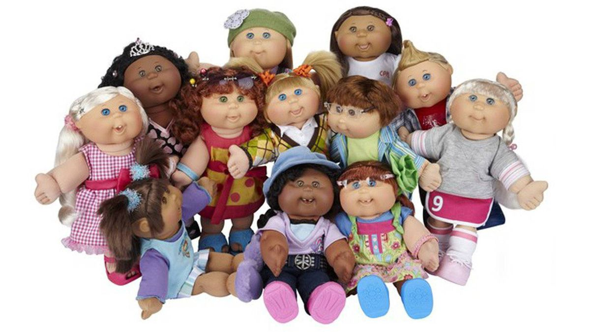 Cabbage Patch Kids Fashionalities Force a trip down memory lane by getting your child a Cabbage Patch doll, that hit of the 1980s. Each one still comes with a name and birth certificate - and now a kicky outfit that captures one of 12 personalities. $34.99, jakks.com