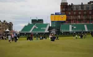 The Old Course reverts to its other identiy as a park following the end of the British Open
