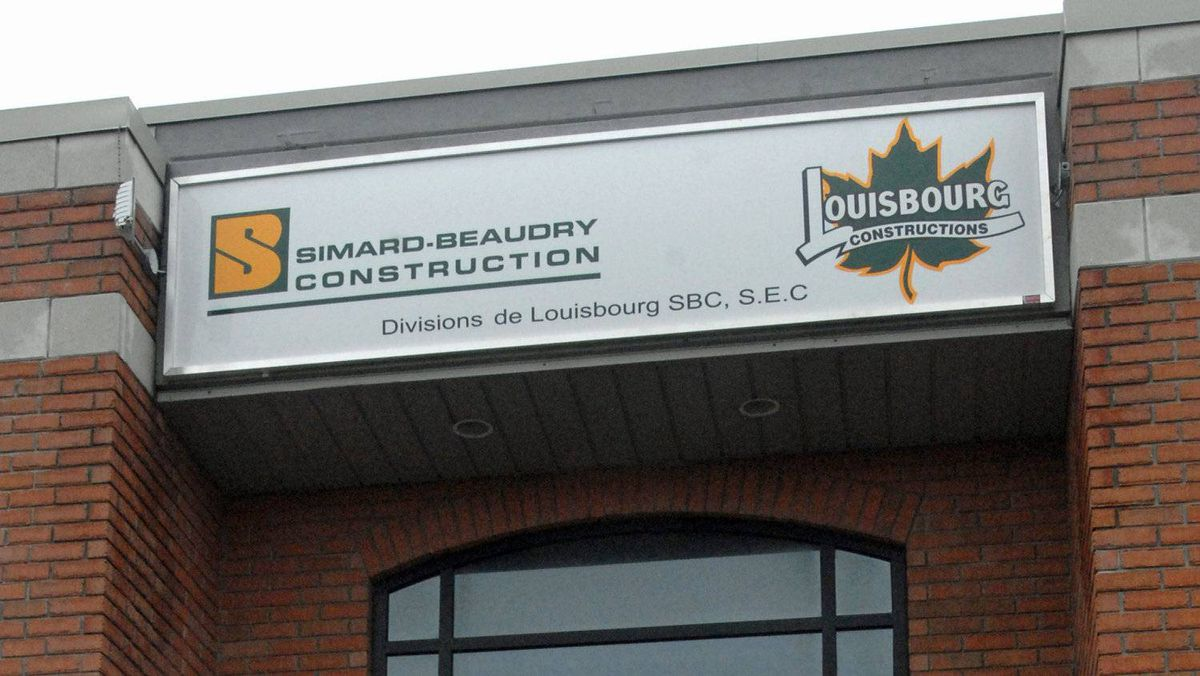 The offices of Simard-Beaudry Construction and Louisbourg Construction are seen in Laval, Que., on April 7, 2009.