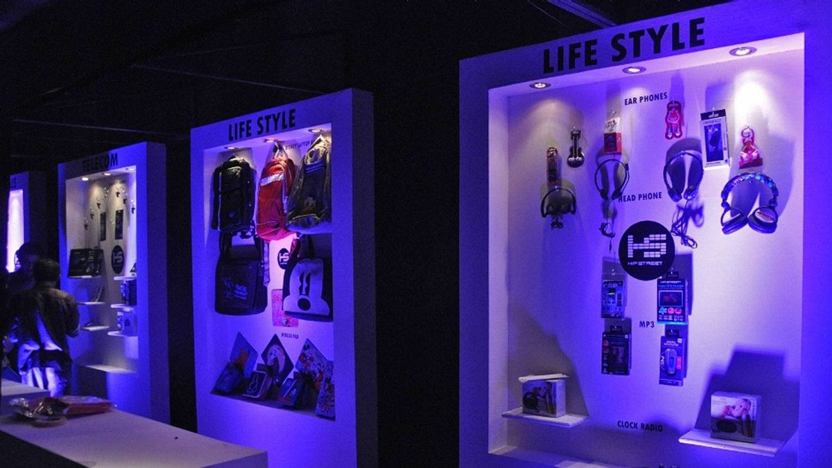 Launch event photos - Hip Street