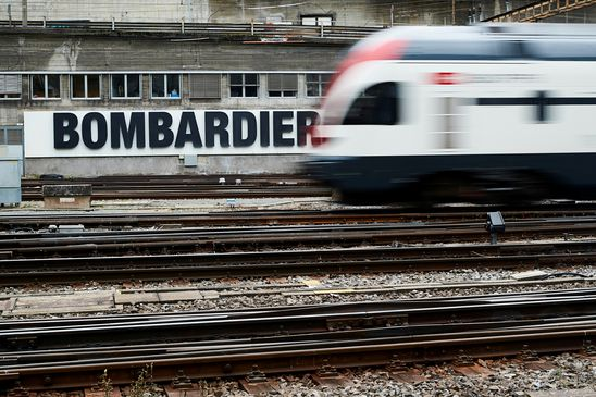 Bombardier says priority is buying back Caisse's stake in train unit