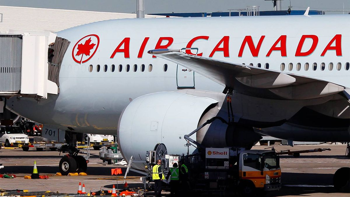 Thanks to extra fuel left on their plane and a pair of binoculars from a passenger, the crew of an Air Canada jetliner helped in the rescue of a sailor adrift in the South Pacific.