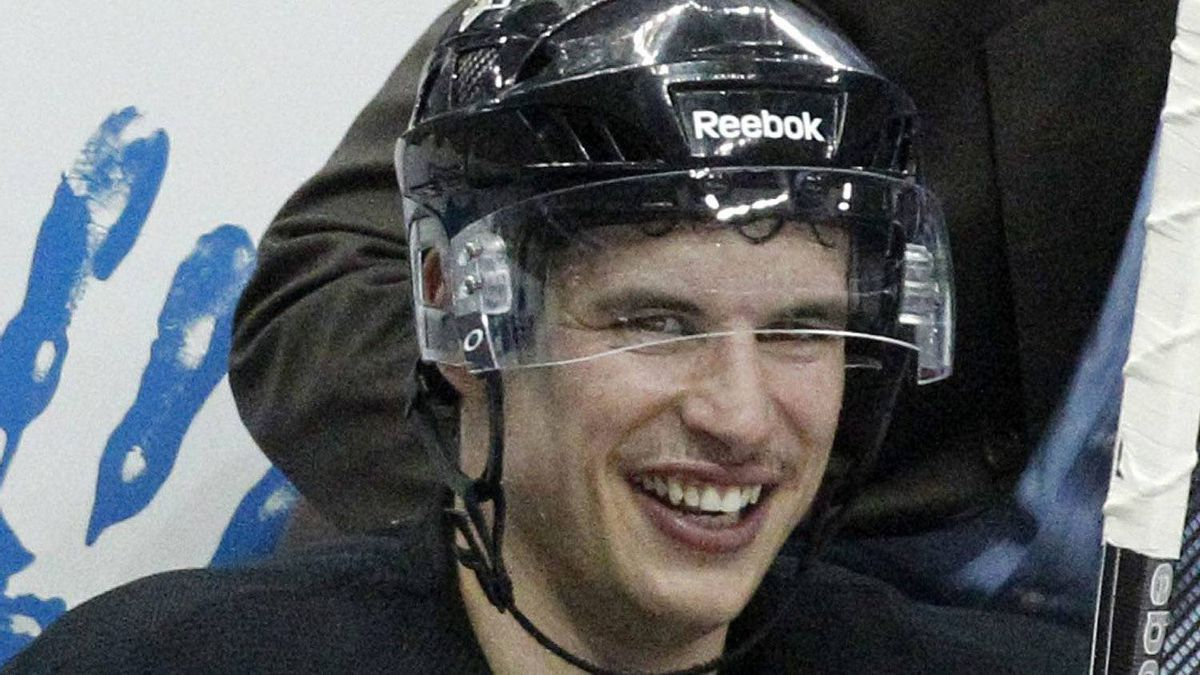 Pittsburgh Penguins' Sidney Crosby continues his rehabilitation from a concussion.