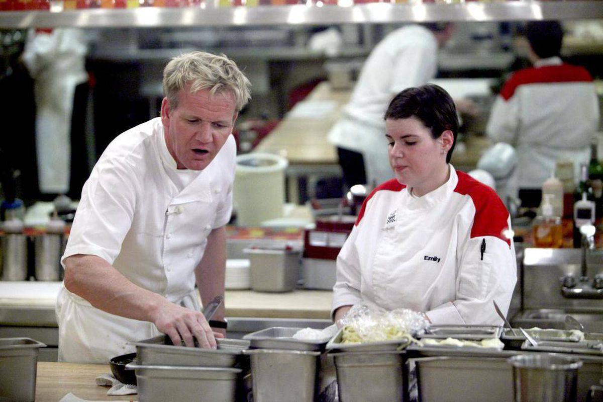 gordan ramsay essay Chef gordon ramsay is more known for his temper and scathing outbursts in the kitchen, but he is also a successful businessman and restaurateur.