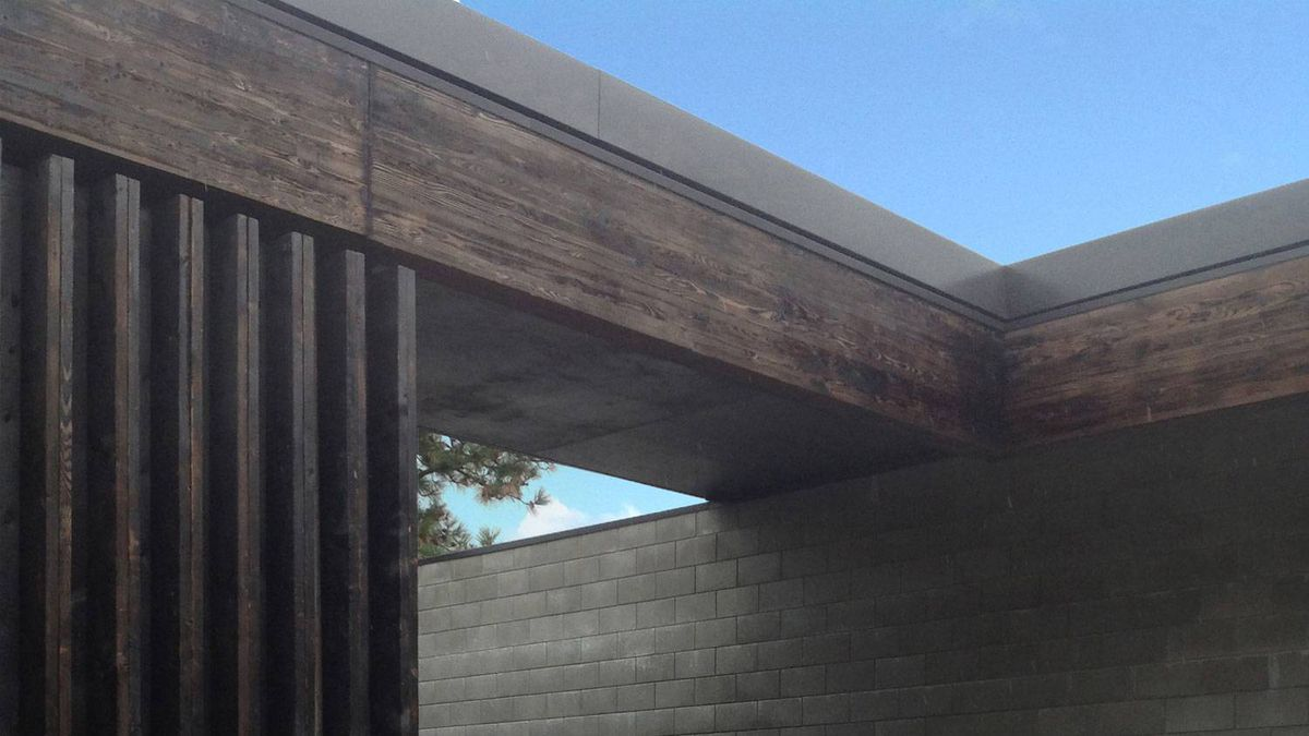 The value in charring wood surfaces goes beyond visual effect - The