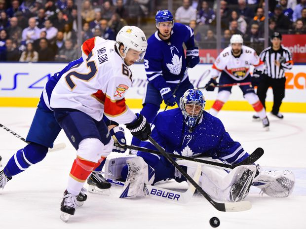 Pysyk scores 3 times as Panthers beat Maple Leafs 5-3