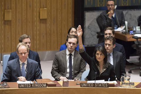 Netanyahu: 'Thank you, Ambassador Haley' for United States veto at UN