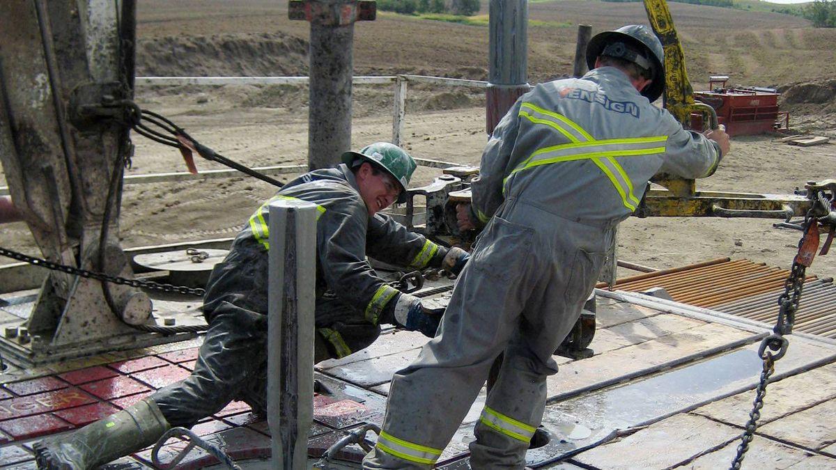 PetroBakken drilling rig.