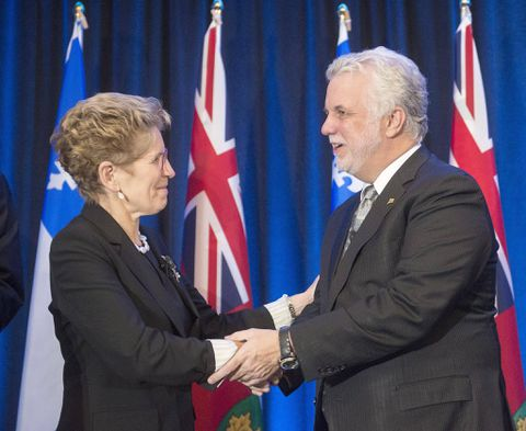 Quebec and Ontario sign $1-billion annual hydroelectricity agreement