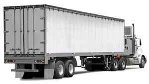 Cargo truck.