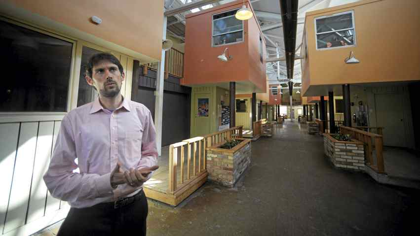 Andrew MacDonald is general manager of Eva's Phoenix, a shelter for homeless and at-risk youth in Toronto's west end.