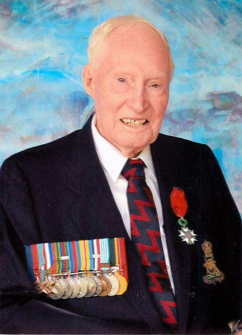 Decorated Canadian veteran John MacIsaac fought at D-Day