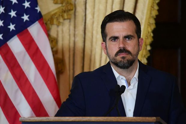 Puerto Rico's Gov. Ricardo Rosselló tipped into a chat room based crisis