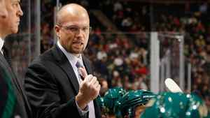 Minnesota Wild head coach Mike Yeo, 38, has led his team to top spot in the Western Conference.