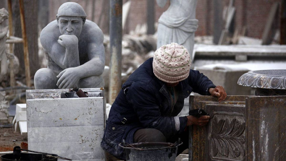 Chinese stone carvers the dust settles globe and mail