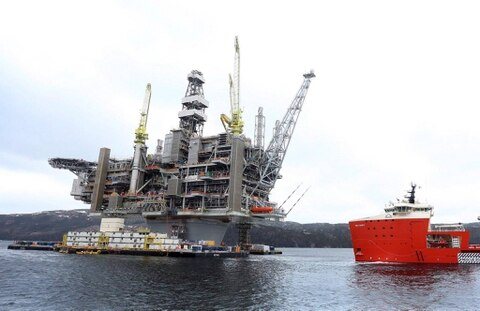 East Coast offshore oil project Hebron produces first crude ahead of schedule