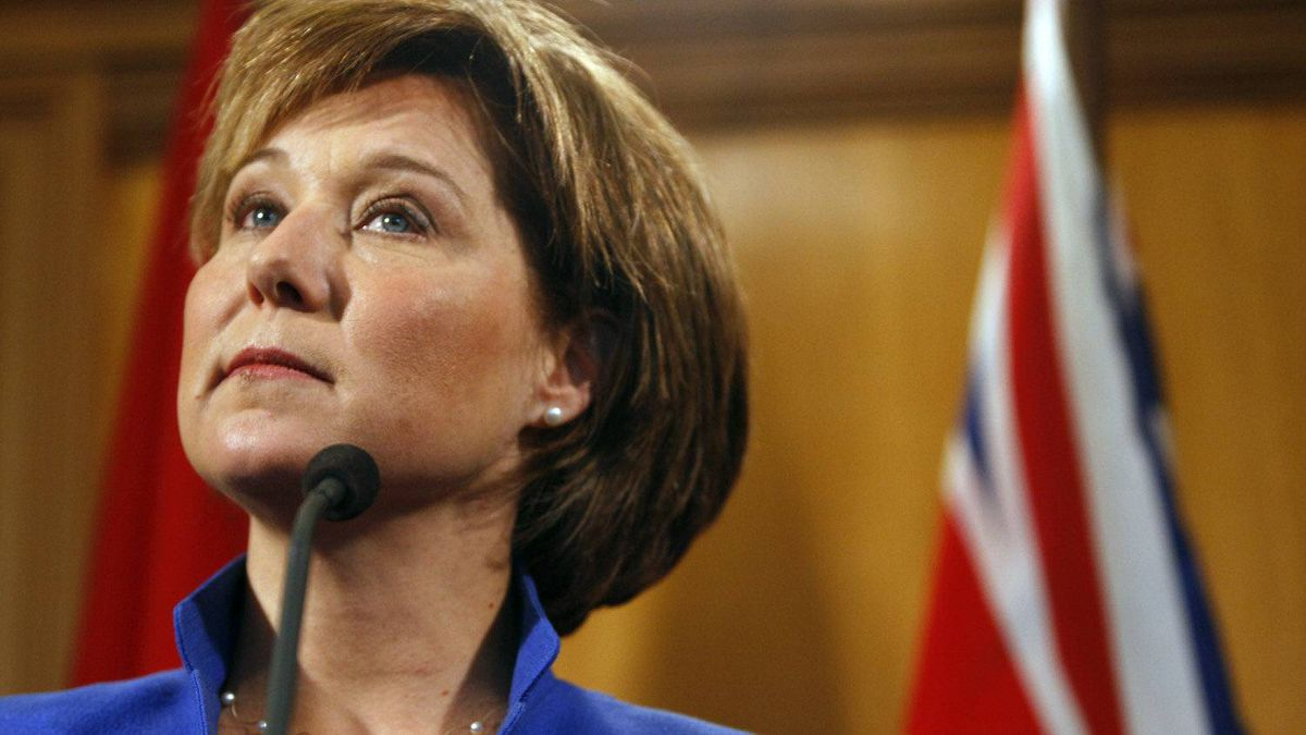 B.C. Premier Christy Clark in Victoria, Tuesday March 27, 2012.