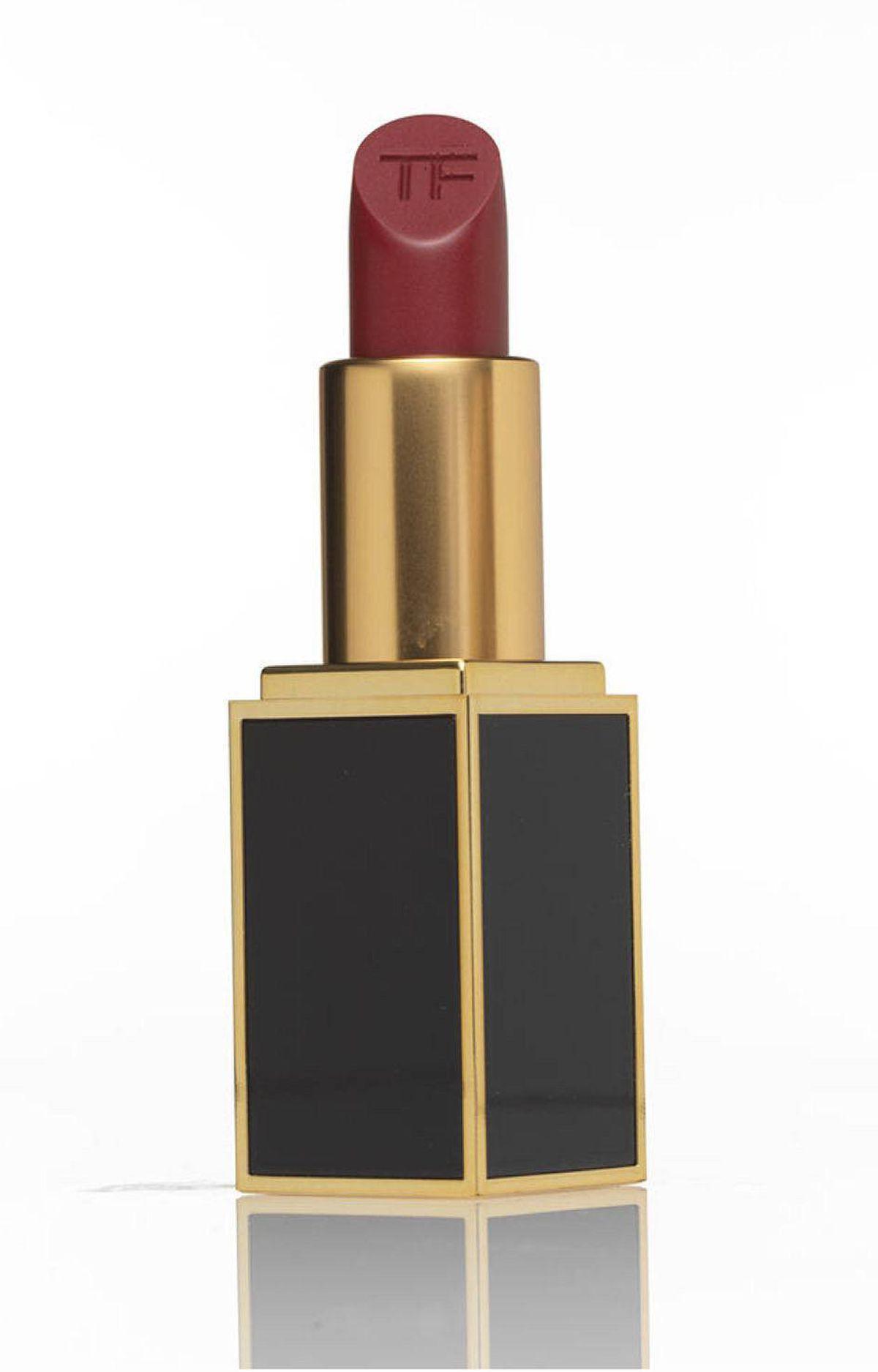 Private Blend Lipstick in Crimson Noir by Tom Ford, $55 at Holt Renfrew (www.holtrenfew.com)