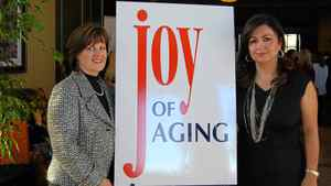 Janine Purves, left, and Tina Tehranchian pulled together the grassroots event to raise money for York Central Hospital.