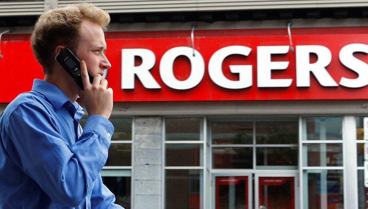 A Rogers Communications store in Ottawa