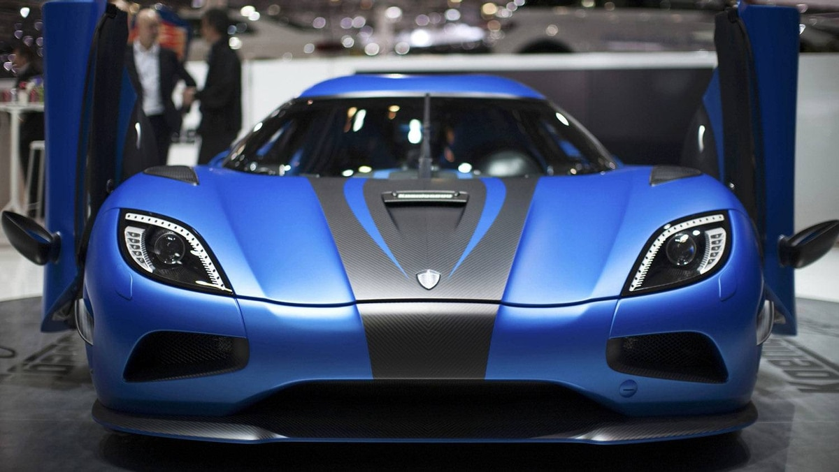 The Koenigsegg Agera 2.