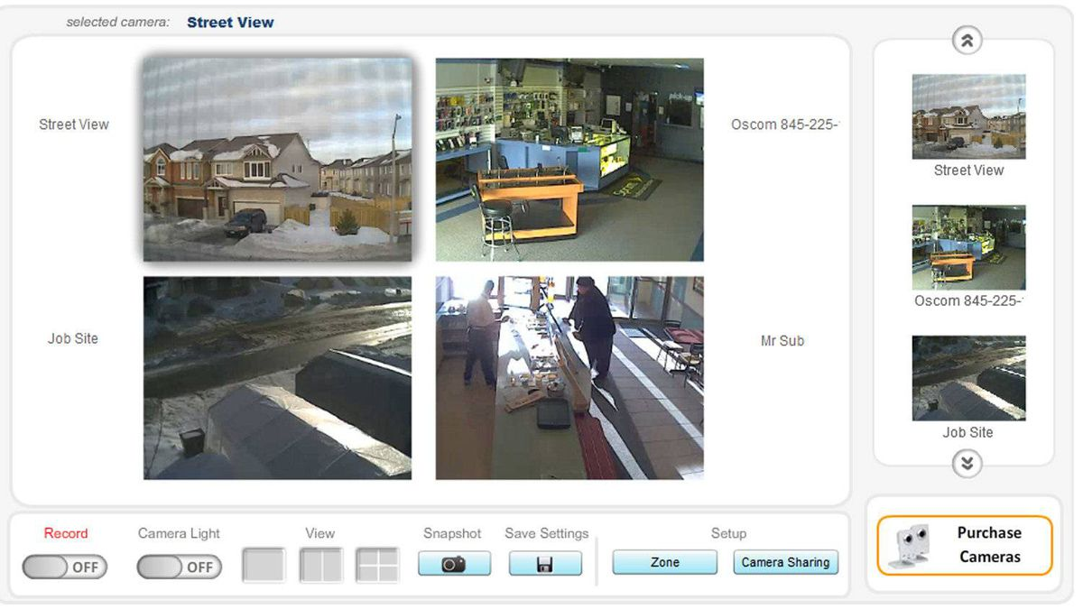 "iWatchLife differentiates itself from its competition by offering what it calls ""smart event detection,"" a fancy way of saying that it tries to keep false alarms at a minimum. Their engineers have developed an image analysis algorithm designed to ignore the sorts of things that might set alarm bells ringing on other systems, like a big leaf blowing across the yard seen through a patio door."