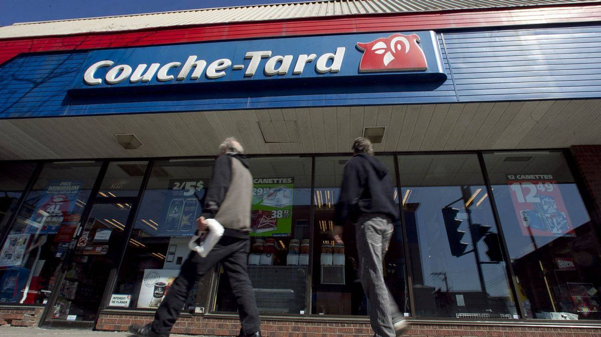 Couche-Tard operates under the Couche-Tard and Mac's banners in Canada and the Circle K banner in the United States..