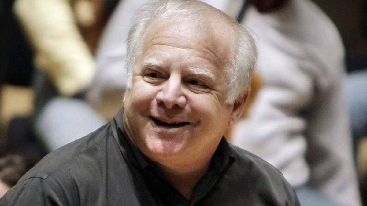 Detroit Symphony Orchestra Musical Director Leonard Slatkin