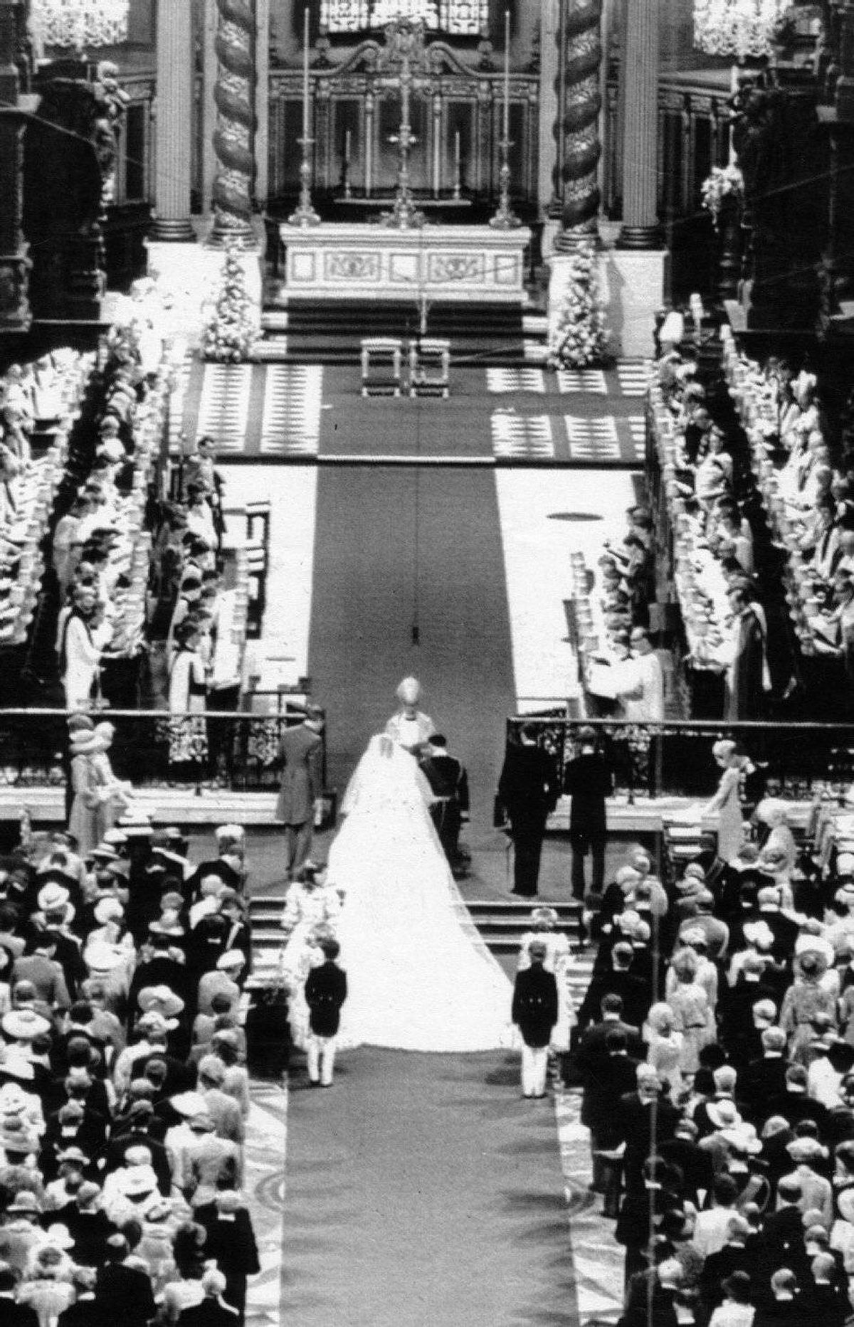 Even with the spectacle and splendour of the young couple's wedding, though, no one could forget Diana.