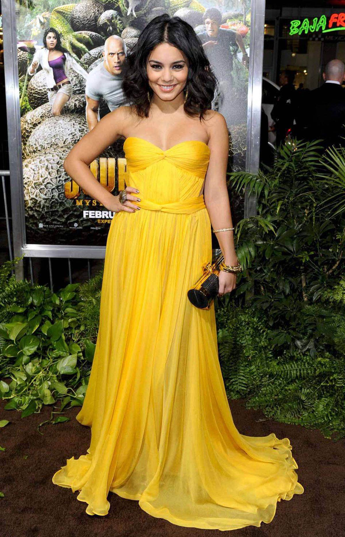 """Vanessa Hudgens at the Hollywood premiere of """"Journey 2 : The Mysterious Land"""" last week."""