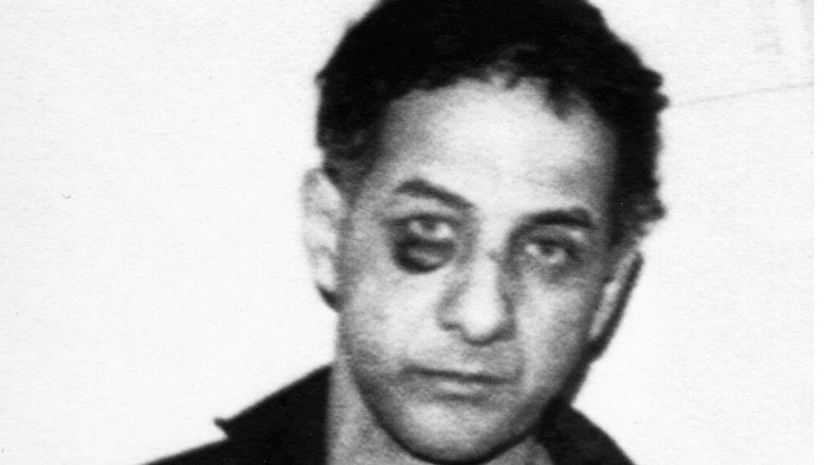 Allan Legere, after being apprehended by police in November, 1989.