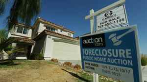 A foreclosed house in Las Vegas