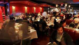 """""""If you were at a table, you were A-list, and if you were in the back room, you were either with a large group or you were the D-list."""" -- movie producer Barry Avrich on the """"six degrees of Jewish geography"""" the average patron had to negotiate when eating at Chan."""
