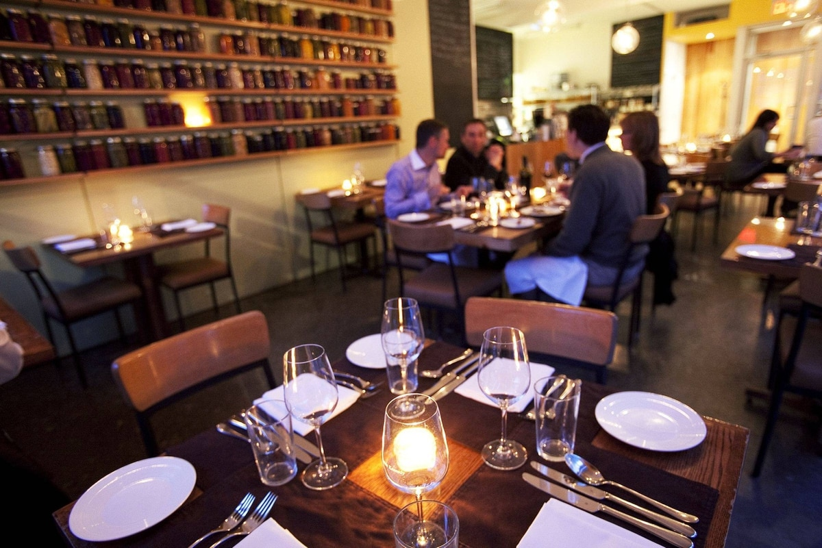 5. Gilead Café and Bistro, Toronto Jamie Kennedy's name is synonymous with local, sustainable dining, and like a hardy Prince Edward County grape, his reputation has survived the harsher seasons and persisted. The result is a changing menu of gastronomic chalkboard comfort food tucked away in Toronto's Corktown. Must-try: Steamed greens with JK chili sauce ($7). 4 Gilead Pl.; 647-288-0680; jamiekennedy.ca.