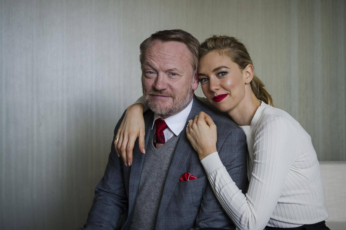 Who they are as people: Jared Harris and Vanessa Kirby