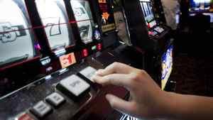 Slot machines at the River Rock Casino in Richmond, B.C. June 11, 2009.
