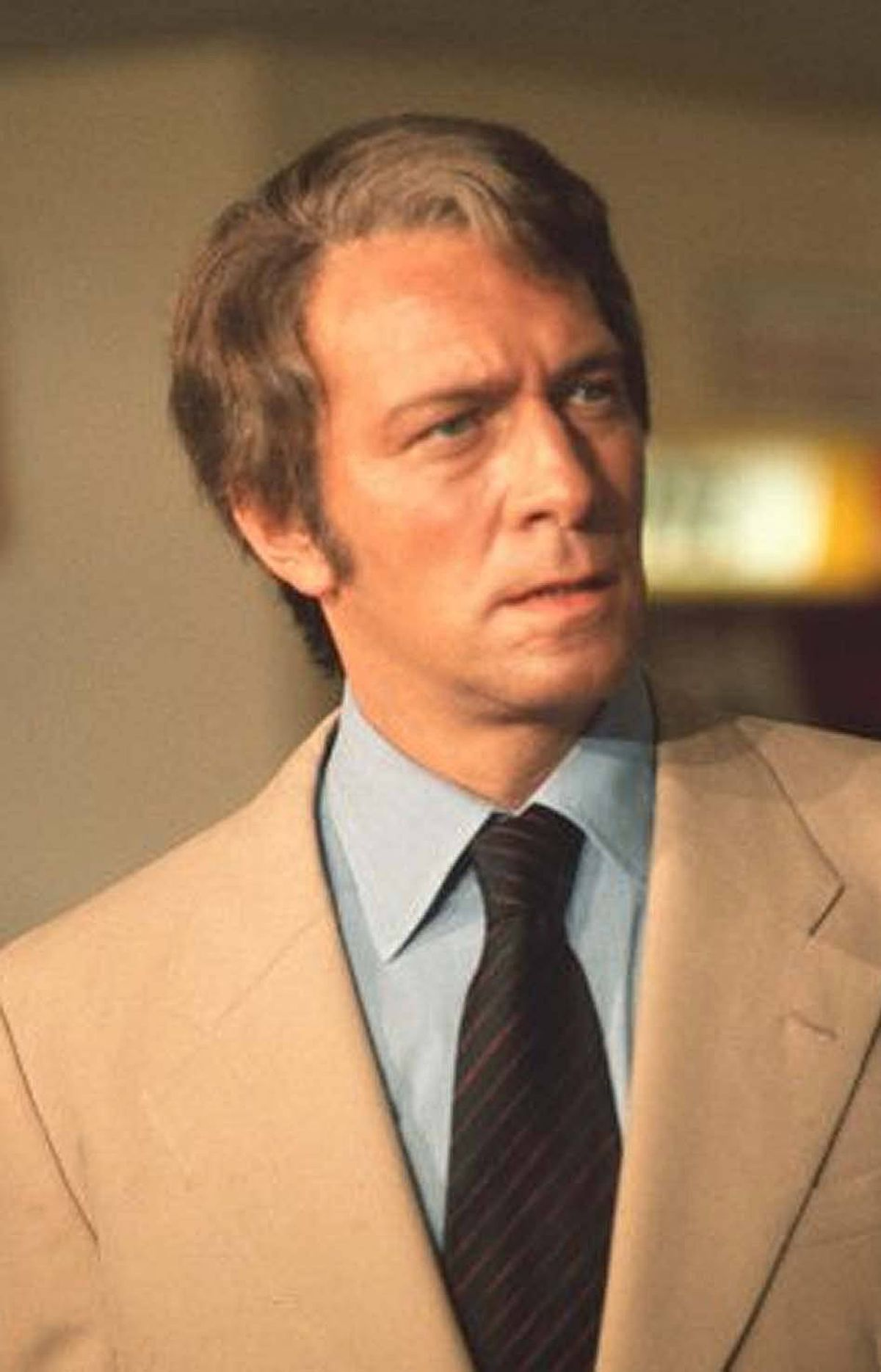 Christopher Plummer as Sir Charles Litton in Return of the Pink Panther (1975).