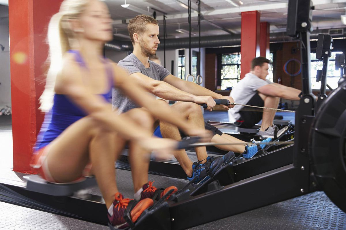 Interval Rowing Is Exercise That Goes Beyond Treadmills