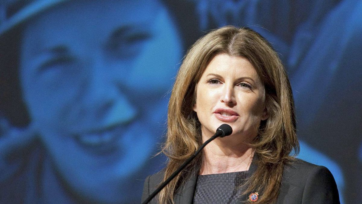Public Works Minister Rona Ambrose speaks at the War Museum in Ottawa, on Oct. 3, 2011.