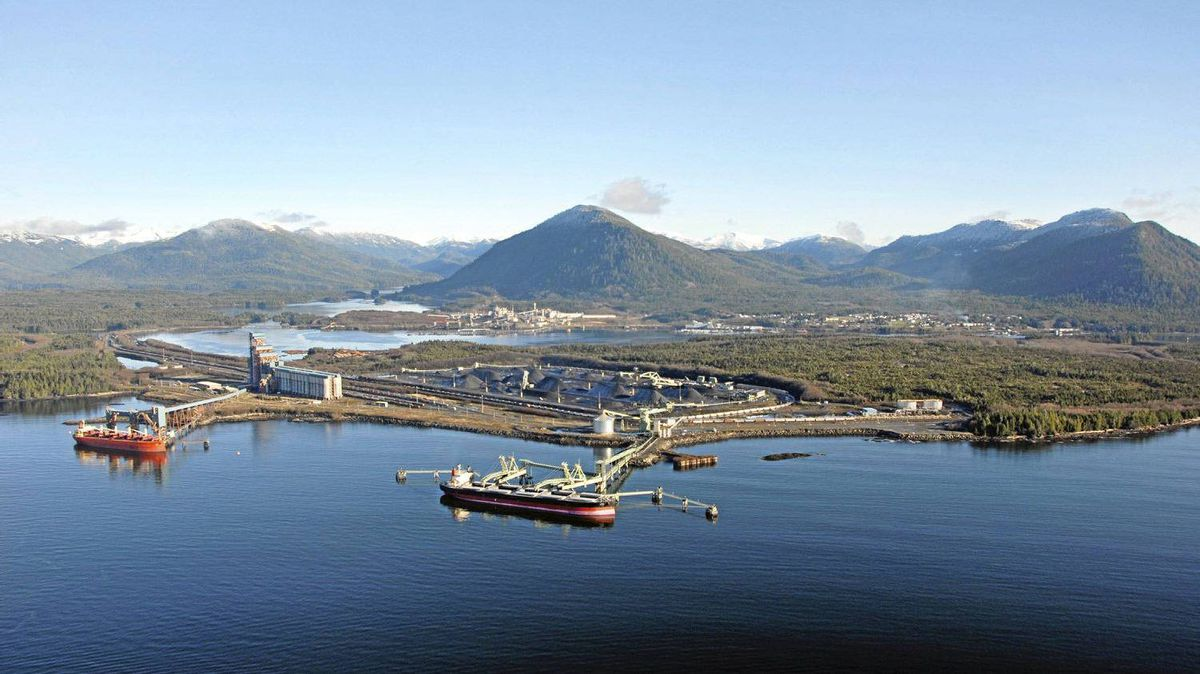 Why not end the pipeline in Prince Rupert?