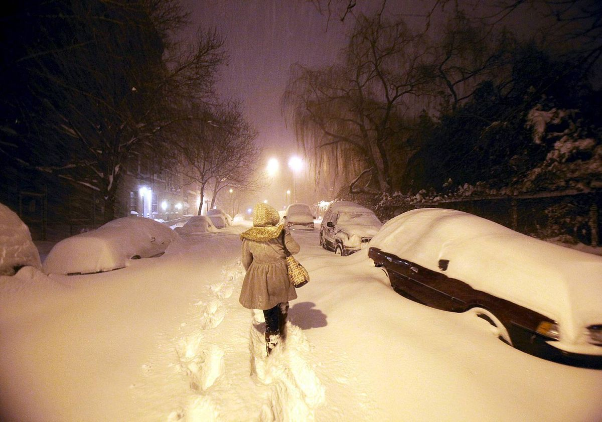 Blizzard Slams U.S. East Coast