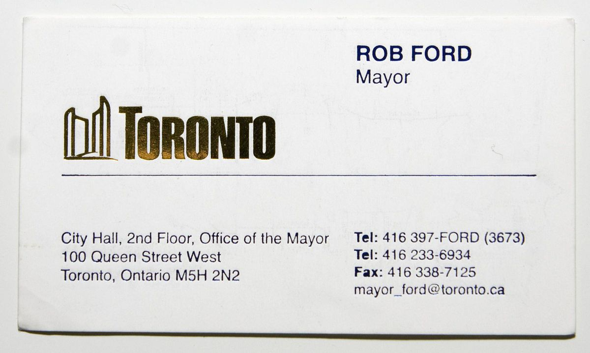 Mayor\'s office destroys records of business card purchase - The ...