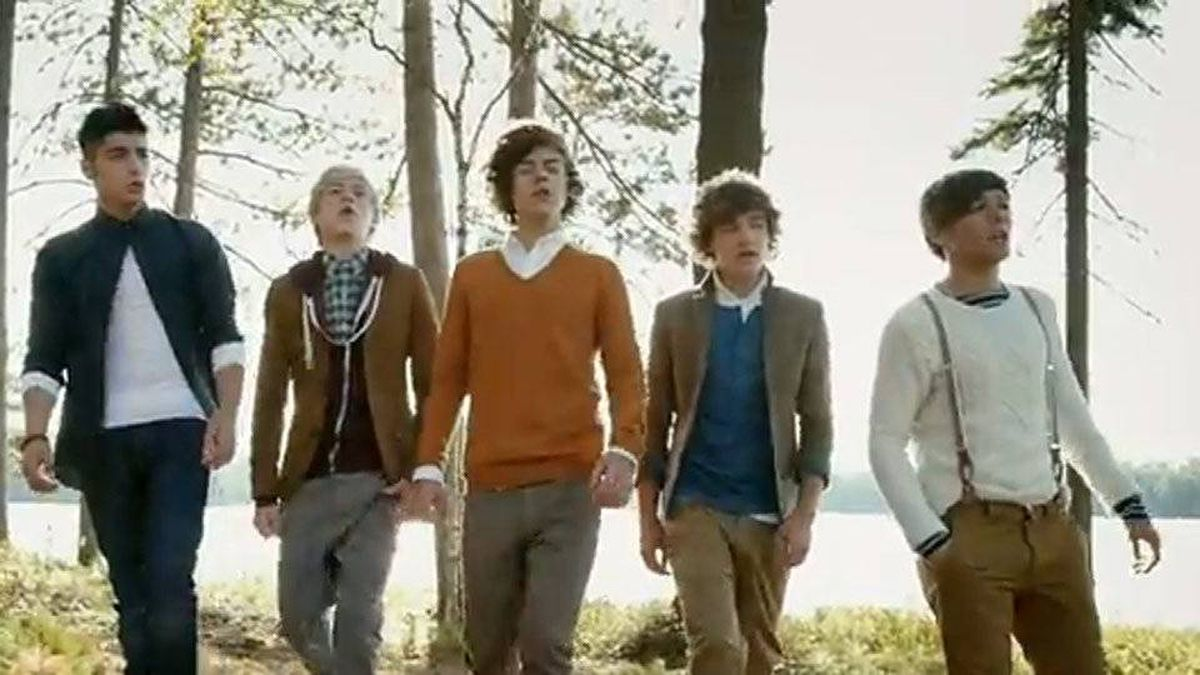 English-Irish group One Direction