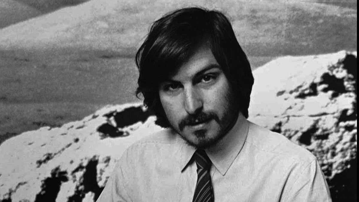 This 1977 file photo shows Apple co-founder Steve Jobs as he introduces the new Apple II in Cupertino, Calif.