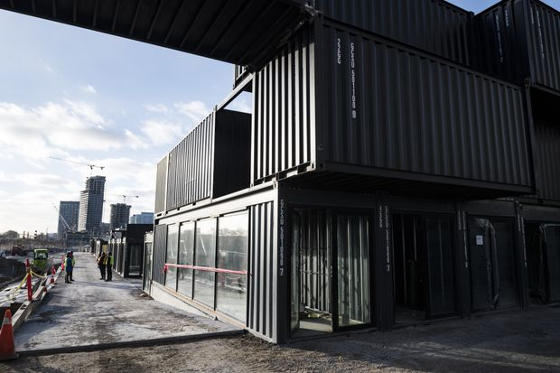 New shipping container market slated for Toronto's Fort York