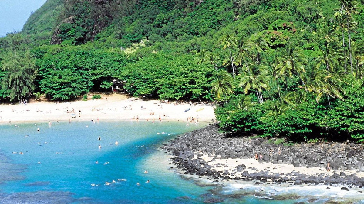 Hawaii's popularity shows no sign of slowing. Kee Beach, at the foot of the Napali Cliffs, is a popular swimming and snorkelling site.