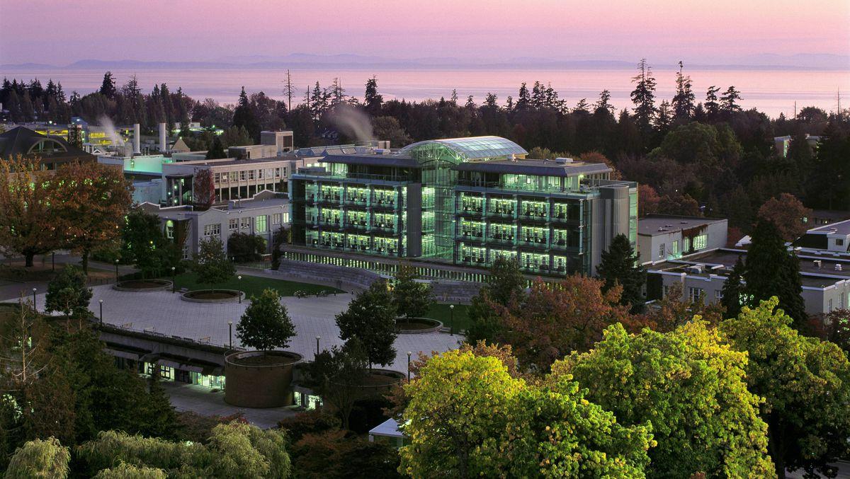 The University of British Columbia Walter C. Koerner Library.